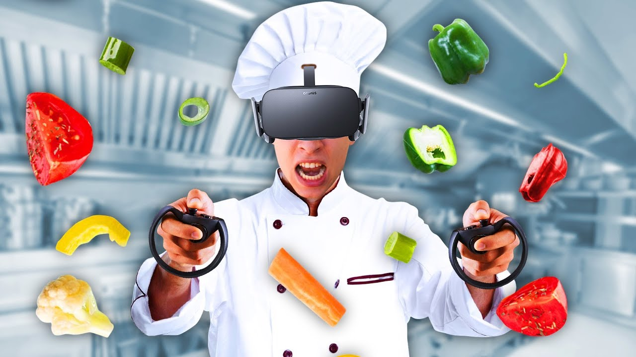 BECOMING A PRO VR CHEF! (Chef VR) - YouTube