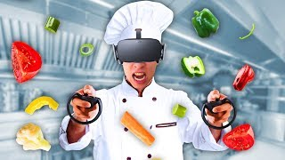 BECOMING A PRO VR CHEF! (Chef VR)