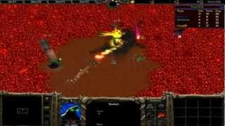 """Warcraft 3 - """"FFA Warlock řežba v 5ti"""" #3 [CZ/HD]"""