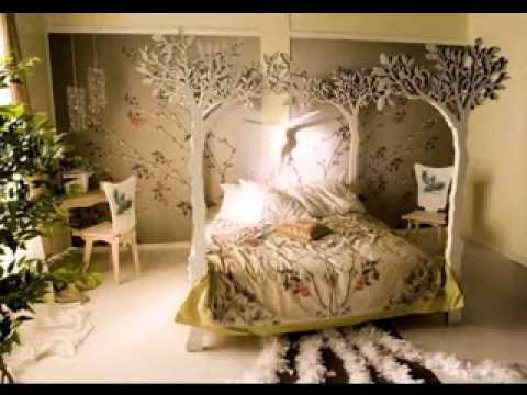 Jungle bedroom decorating ideas - YouTube