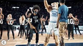 Ayo & Teo go Viral with BYU Mascot during Halftime Show Dance