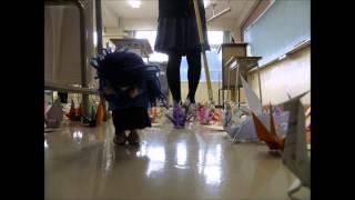 卒業制作に人形アニメーションを作りました。