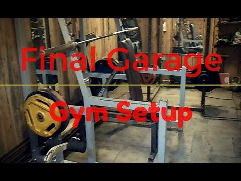 home garage gym setup  youtube