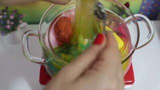Slime Çorbası Yapımı - Evcilik Oynadım Slime Çorbası Pişirdim! Bidünya Oyuncak