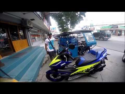 CUSTOM AEROX 155  MANILA PHILIPPINES