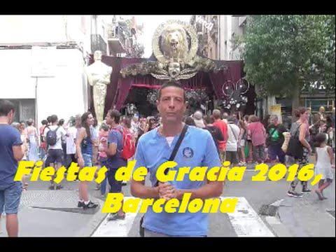 Fiestas de Gracia 2016 - Barcelona