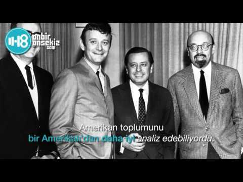 """Ahmet Ertegün """"Amerikan Kültürünü Dönüştüren Türk"""""""