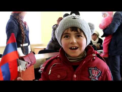 The Diocesan Children's Fund for Armenia supported children in Vayots Dzor