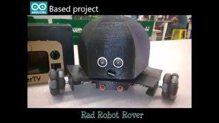 Arduino| Omni wheel Robot Rover| 3D Printed