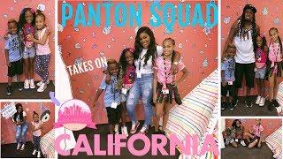 Panton Squad Takes On LA Baby -  Family Vacation Vlog