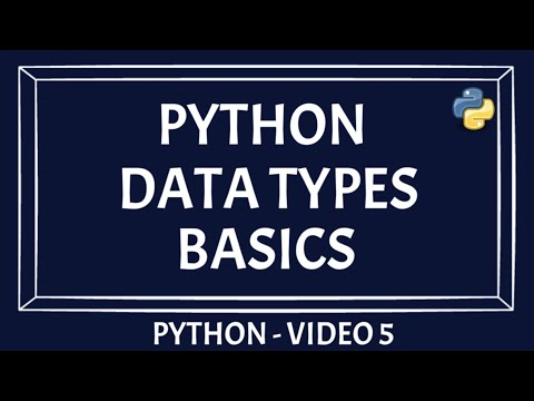 Python Data Types | Numbers and Strings | Part 1 | Beginners Guide [PYTHON TUTORIAL]