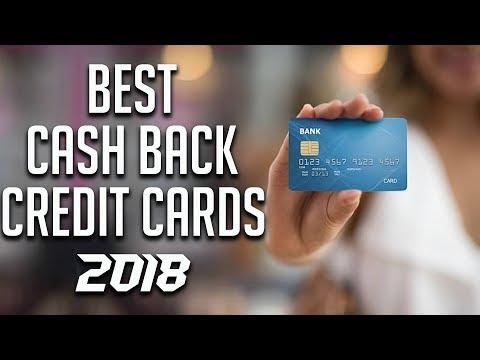 Best Cash Back Credit Cards 2018