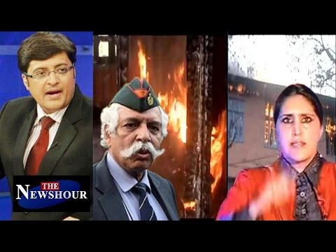 Why Did The Government Let Jammu Schools BURN For 2 Months?: The Newshour Debate (1st Nov)