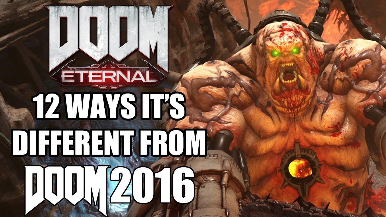 Doom Eternal - 12 Ways It's Different From Doom 2016 - GamingBolt