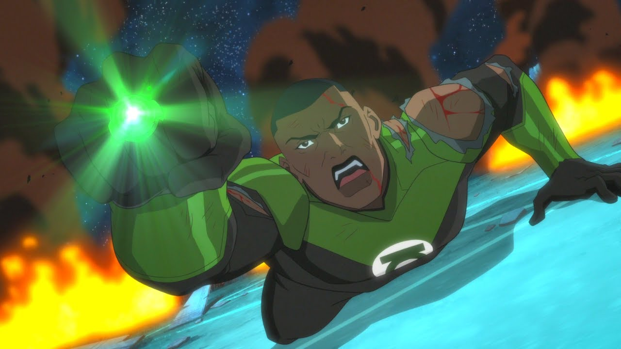 Green Lantern Corps Death Scene Justice League Dark Apokolips War 2020 Full Hd 60fps Youtube