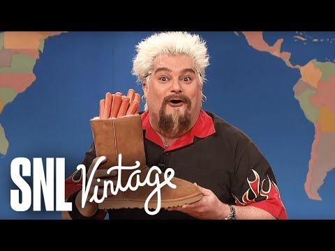Weekend Update: Guy Fieri on Super Bowl Snacks  SNL
