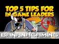 CS:GO - Top 5 tips for In-Game Leaders