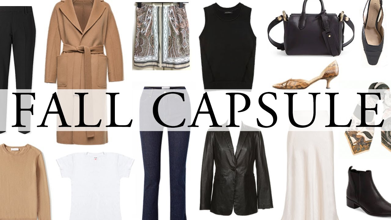 Capsule Wardrobe 2020 Fall.23 Pieces Over 60 Outfits For Fall 2019 Fall Capsule Wardrobe