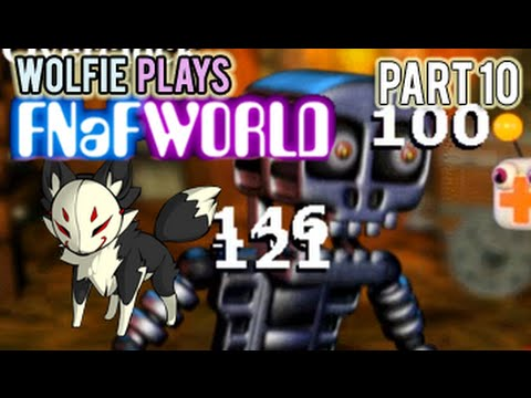 Wolfie Plays: Five Nights at Freddy's World (Part 10) Unlocking the Guardian Gates
