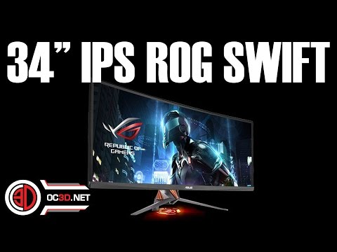 Asus ROG Swift PG348 Review 34 Superwide 3440x1440 Gsync IPS 100Hz PG348Q