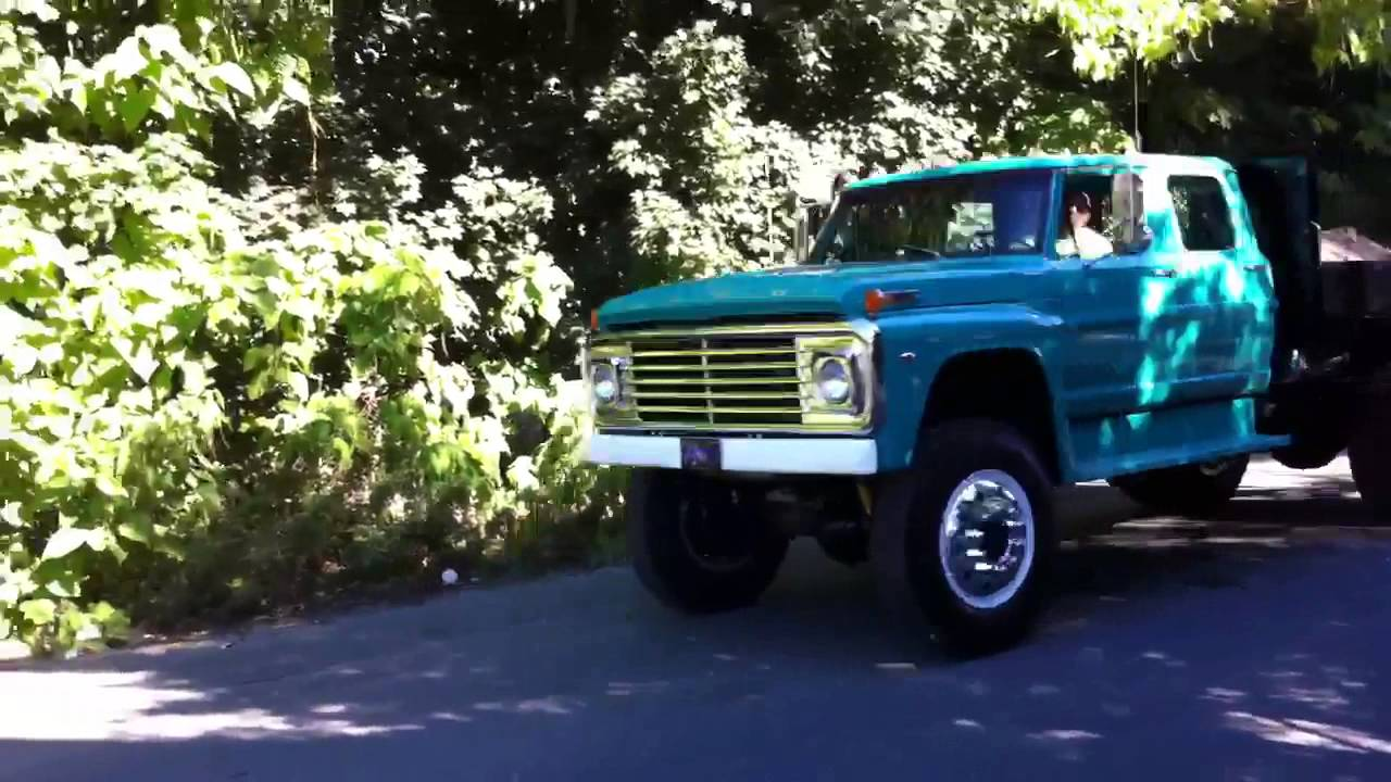 1971 Ford F750 Drive By Youtube
