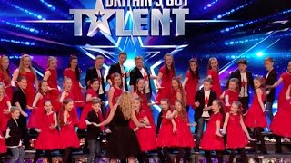 perfect pitch creation choir try to win bgt   audition 4   britain s got talent 2017