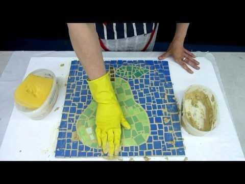 Making Mosaic By Mic Greenwood Brown