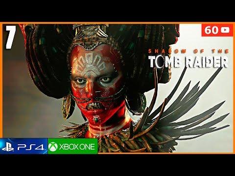 SHADOW OF THE TOMB RAIDER Parte 7 Español Latino Gameplay PS4 PRO (4K)  La Caja de Plata de Ix Chel