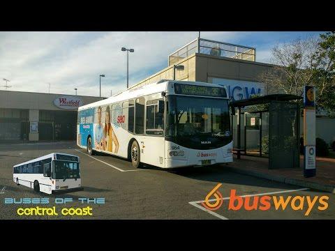 Route 36 To Gosford on Busways No.954