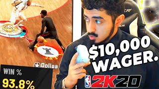 One of the World's Best Guards challenged my LEGEND for $10,000, I ACCEPTED! (NBA 2K20)