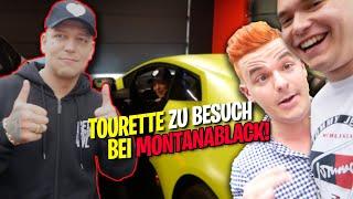 Tourette zu Besuch bei Montanablack! Neues Haus, Meinung zu Tourette & Lamborghini