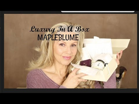 MapleBlume Unboxing & A few Hot Flashes