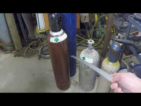 Tanks fer' nuttin Part 3 Millermatic 250 mig welder Part 5