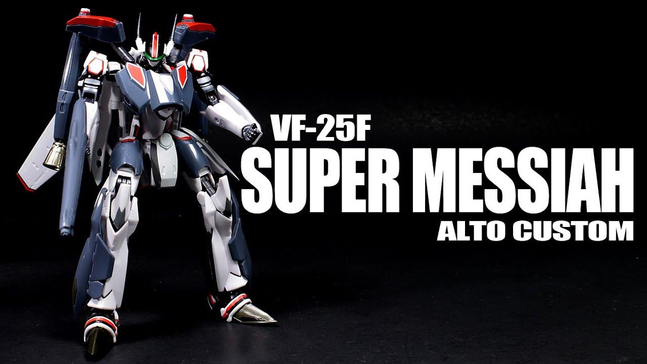 Robot Spirits  VFF Super Messiah Valkyrie Alto Custom - Custom graphic for alto