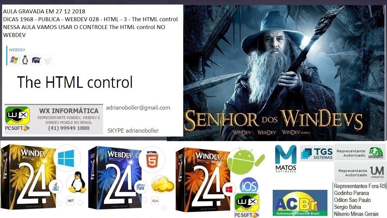Dicas 1968 Publica Webdev 28 Html 3 The Html Control