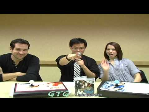 Interview w/ Travis Willingham (Guile SF4) and Laura Bailey (Chun Li SF4)