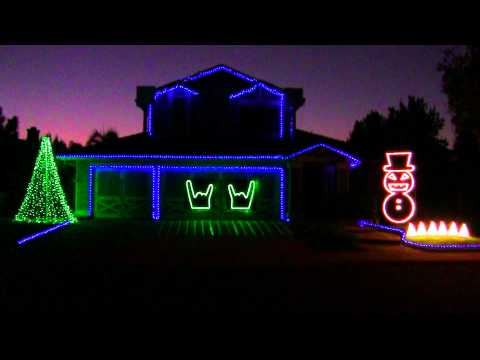 SLAYER CHRISTMAS LIGHTS 2011 HD LIGHTORAMA