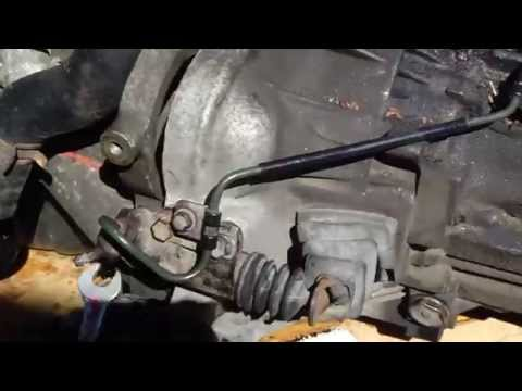 How to replace clutch slave cylinder Toyota Corolla VVT-i engine manual gearbox years 2001 to 2010