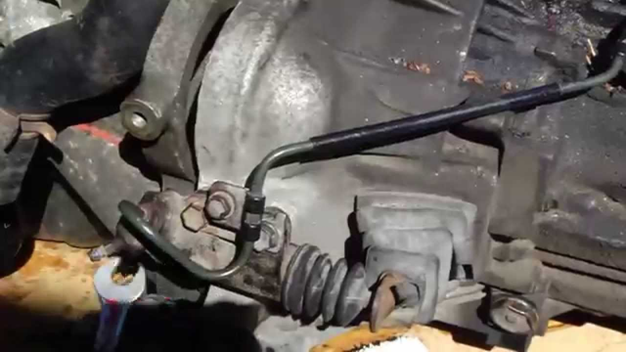 How to replace clutch slave cylinder Toyota Corolla VVT i
