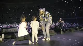 Kevin gates Great Man live With His Children at Louisiana