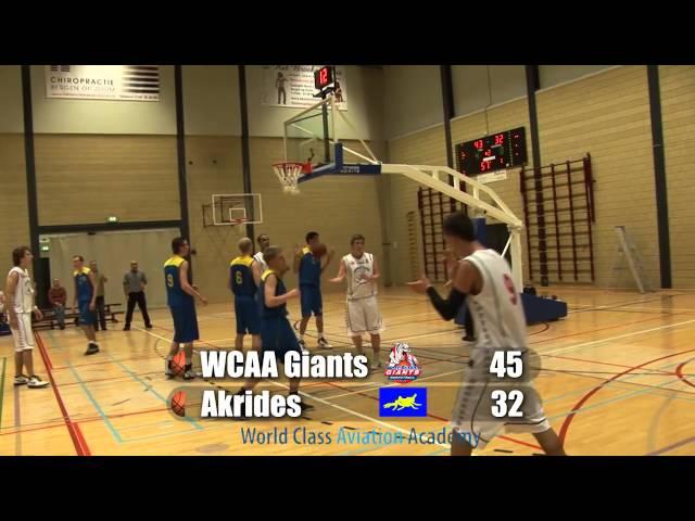 Giants U20 vs Akrides U20