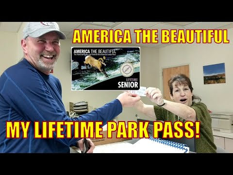 America The Beautiful Pass  // Lifetime Park Pass // Full Time RV
