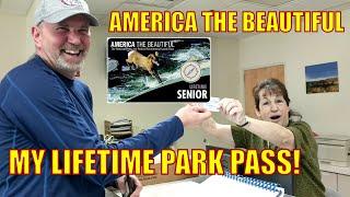 America The Beautiful Pass  // Lifetime Park Pass // Full Time RV