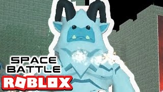 THE YETI! SPACE BATTLE EVENT IN ROBLOX FIELD OF BATTLES