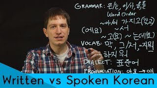 Spoken Korean vs Written Korean | Korean FAQ
