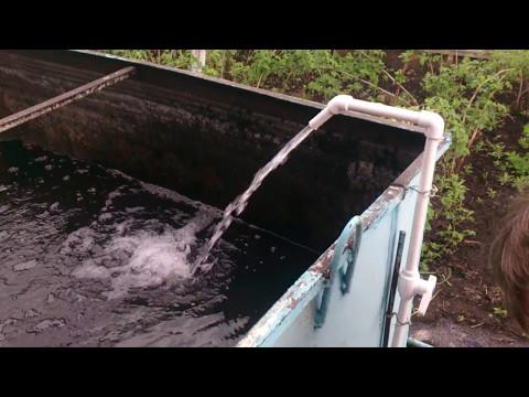 Полипропиленовый водопровод на даче