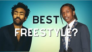 Best Freestyle? (Childish Gambino/J. Cole/A$AP Rocky/Kendrick/Logic/Mac ... video thumbnail