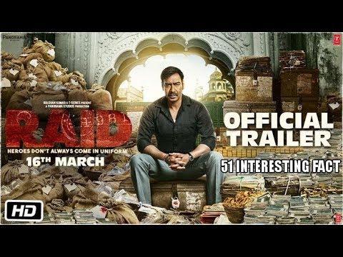 51 Interesting Fact | Raid (2018) |Ajay Devgn | Ileana D'Cruz | Rajkumar Gupta | 16th March