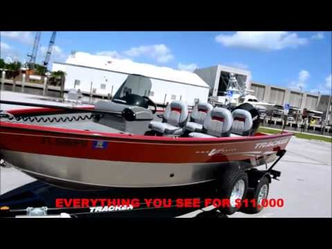 FOR SALE 2011 TRACKER BOAT PRO GUIDE V SC DEEP V HULL CHEAPEST IN THE UNITED STATES
