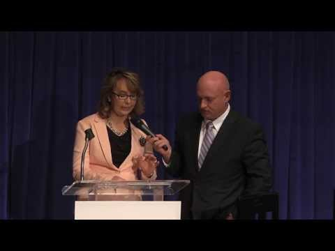 Gabby & Mark Discuss Laws That Can Help Protect Women From Gun Violence